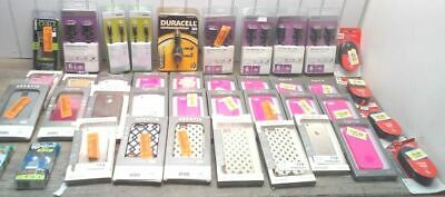 Huge Cell Phone Lot!!  Phone Cases Iphone 5 & 6 Earbuds Chargers Belkin Uniden