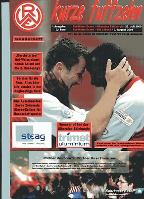Rot Weiss Essen v HIbernian/VfB Lubeck Pre-Season Friendly Matches Jul/Aug 2005