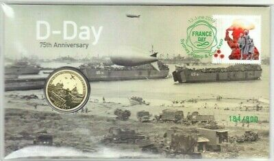 2019 The 75th Anniversary of D-Day $1 Coin - PNC Sydney Expo Day 1 - 184 / 800