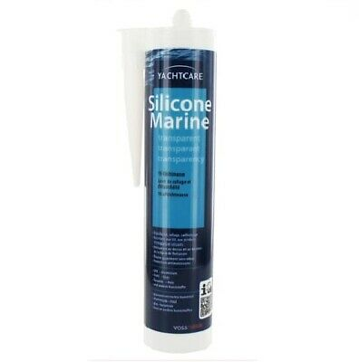MASTIC SILICONE MARINE TRANSPARENT YACHTCAR SOLOPLAST reboucher fissures accrocs
