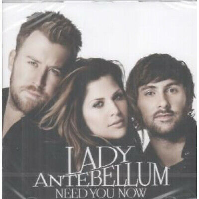LADY ANTEBELLUM Need You Now CD Europe Capitol 12 Track Still Sealed