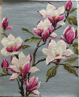 Pretty Vintage Hand Done Penelope Tapestry Magnolia