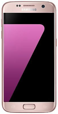 SIM Free Samsung Galaxy S7 5.1 Inch 32GB 12MP 4G Mobile Phone - Pink Gold.