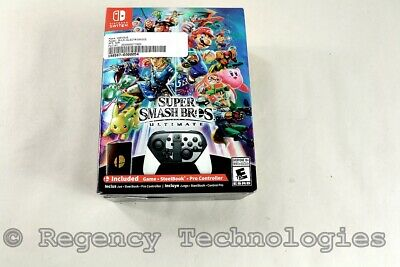 Nintendo Super Smash Bros Ultimate Edition | Switch | Factory Sealed | Lot Of 2
