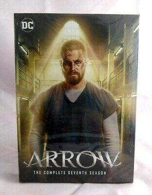 Arrow - Season 7 [DVD] Complete Box Set New & Sealed UK Compatible