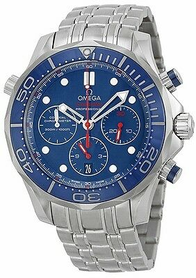 Brand New Omega Seamaster Chronograph 44mm Men's Watch 212.30.44.50.03.001