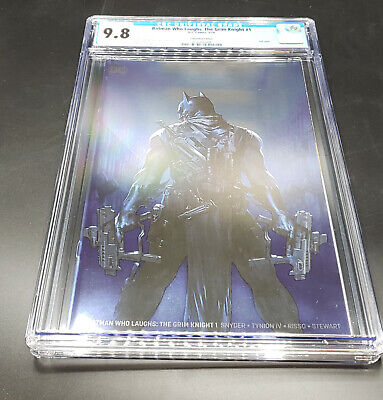 Batman Who Laughs Grim Knight #1 Convention Exclusive Foil Variant Cover CGC 9.8