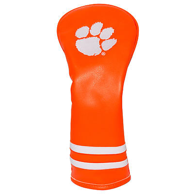 CLEMSON TIGERS Team Golf Vintage Fairway / Hybrid Headcover Free S/H