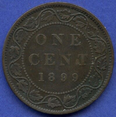 1899 Canada Large Cent Coin