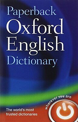 Paperback Oxford English Dictionary by Oxford Dictionaries, NEW Book, FREE & FAS