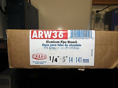"""Reed ARW36 36"""" Aluminum Pipe Wrench 02101 [16F]"""