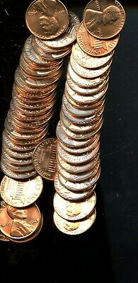 Roll (50) 1963 United States Lincoln Memorial Cents(50 Coins) BI519