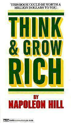 Think and Grow Rich by Napoleon Hill (Pdf book)