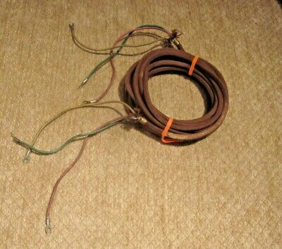 Western Electric Cloth 4-Conductor Telephone Line or Subset Cord.