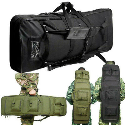 "39""/ 47"" Tactical Airsoft Rifle Gun Bag Backpack Pouch Protection Carrying Case"