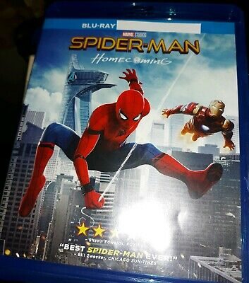 Spider-Man: Homecoming (JUST Blu-ray Disc, 2017)