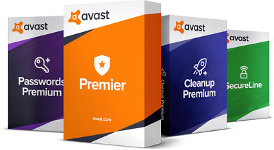 Avast Premium / Av Internet Security / Av Cleanup 1 anno
