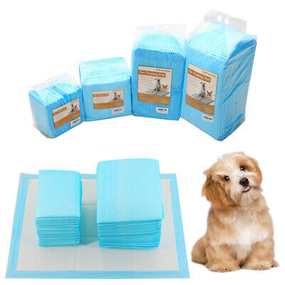 Puppy Large Training Trainer Pads Dog Cat Toilet Pee Wee Mats 60X45 & 60X90cm UK