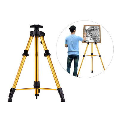 Aluminum Easel Stand Tripod Adjustable Height 19''-55'' Sturdy Field Easel AU
