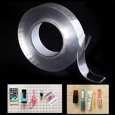 Multi-function 2Two sided Adhesive Nano Tape Washable Removable Gel Grip Sticker
