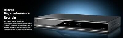 Panasonic Dmr-Pwt530 Bluray Player And Twin Hd Tuner Recorder