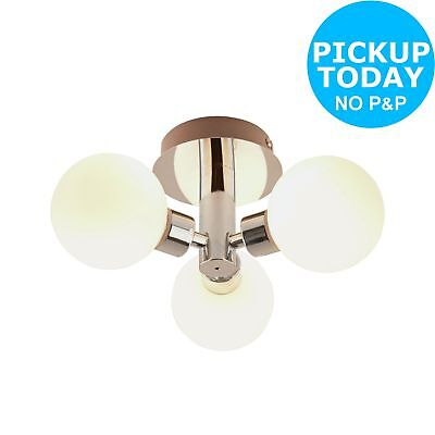 Argos Home Yuko 3 Light Bathroom Ceiling Light