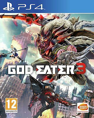 God Eater 3 Sony Playstation PS4 Game 16+ Years
