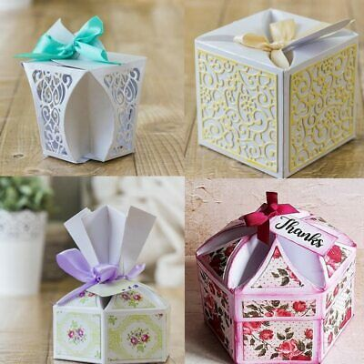 Pop-up 3D Box Metal Cutting Dies Stencil Scrapbook Album Embossing Card Making