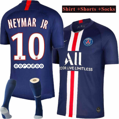 2020 MBAPPE Football Kits Soccer Suits Kids Adults Jersey Strip Team Outfits