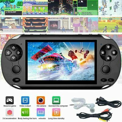 Portable X9 Handheld Video Game Console 128 Bit Built 1000+Game For Kids Player