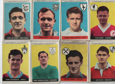 A&BC Topstars Famous Footballers 1958/59 with planet offer