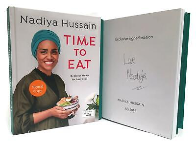 Signed Book - Time to Eat: Delicious meals for busy lives by Nadiya Hussain 1st