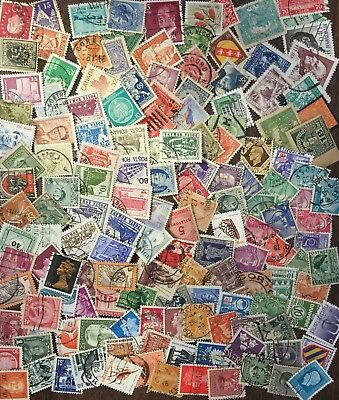 [Lot I] 250 SMALL/DEFINITIVE Worldwide Stamps - GOOD Variety!