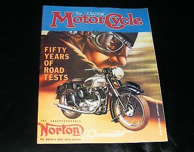 CMC 50 Years of Road Tests - Dominator Tiger B33 AJS Panther ABC Enfield Barnett