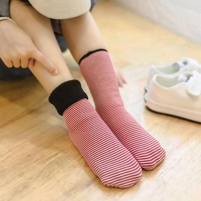 Kids Thickening Plus Cotton Children Socks Winter PinStripe Tube Socks LA