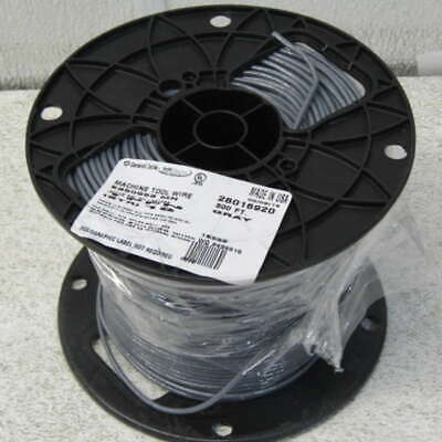 General Cable E355563, Machine Tool Wire Gray 500ft