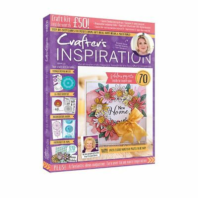 Crafters Companion - CRAFTERS INSPIRATION - Issue 23 Summer Edition FREE UK P&P