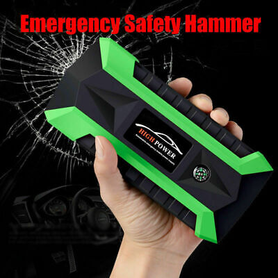 89800mAh LED 4 USB Car Jump Starter Pack Booster Charger Battery Power Bank 600A