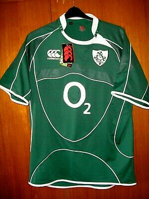Ireland Rugby Union Football Shirt Jersey Brand New CCC Canterbury size XL 44/46