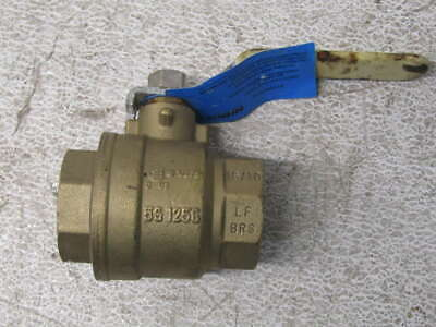 "Nibco TFP600A-LF - 1-1/2"" - Threaded - 350PSIG - Ball Valve"