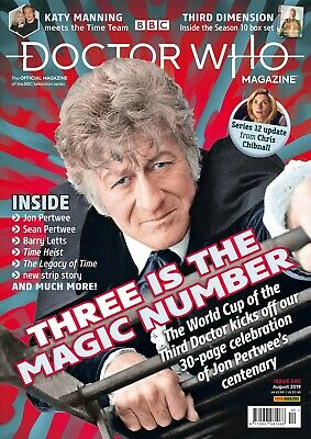 Doctor Who Magazine August 2019 (Issue 540) New...fast Post