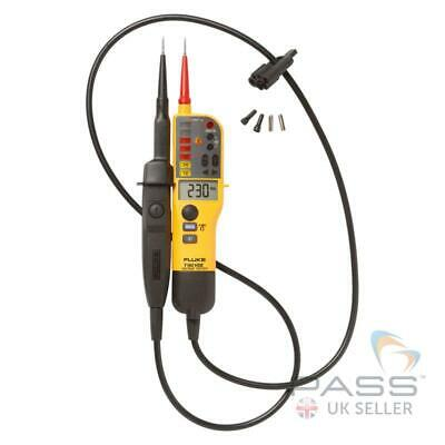 Genuine Fluke T150 Voltage/Continuity Tester / Supplied with Fluke Cal Certifica