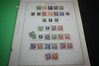 SWEDEN Nice LOT of 75+ Stamps on Album Pages Great Value