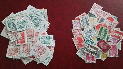 Lot 125 timbres France