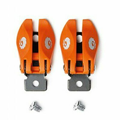 Sidi Mx St Pop Buckle Boots Motocross Boot Spares - Orange One Size