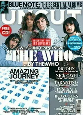 Uncut Magazine + Cd September 2019 (The Who, Blue Note, Nick Cave, Dr. John) New