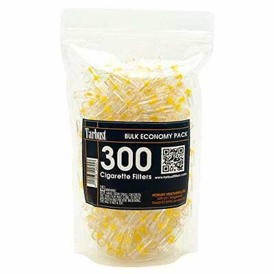 Disposable Cigarette Filters 300 Filters Bulk Pack