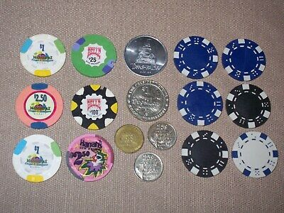 Mixed Lot Casino chips~Biloxi Belle~Margaritaville~Biloxi & New Orleans