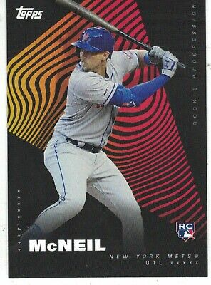 2019 Topps Rookie Progression #20 Jeff McNeil New York Mets RC