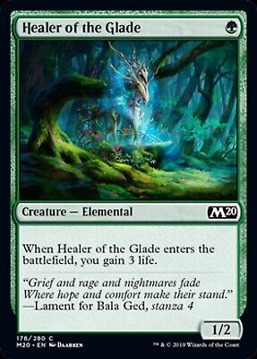 Healer of the Glade Core Set 2020 Mtg x4 4x M20 Magic  Mint C45